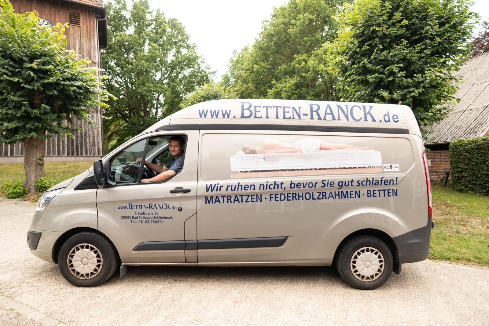 Betten Ranck Frei-Haus Lieferservice im Heidekreis